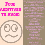 How to avoid harmful food additives